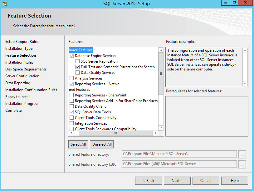 CRM 2013 SQL 2012 Requirements