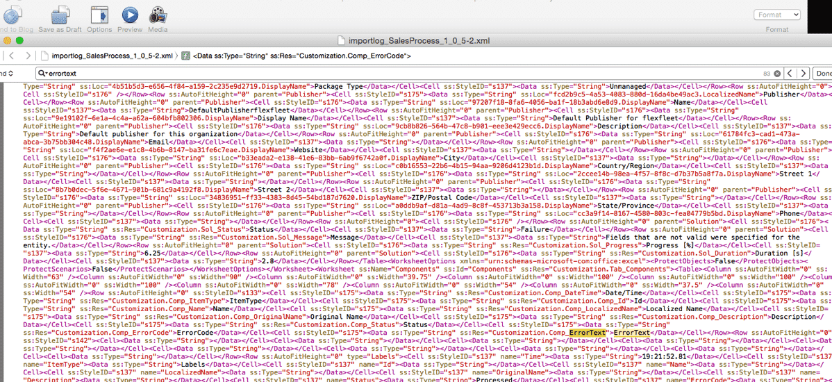 Ugly XML Dump file from CRM.png