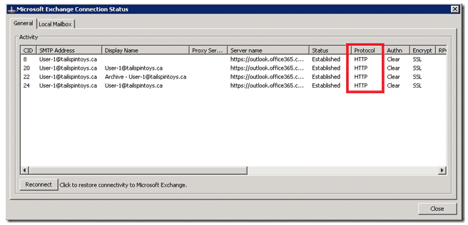 Outlook Slow and Unresponsive wiht MAPI over HTTP to